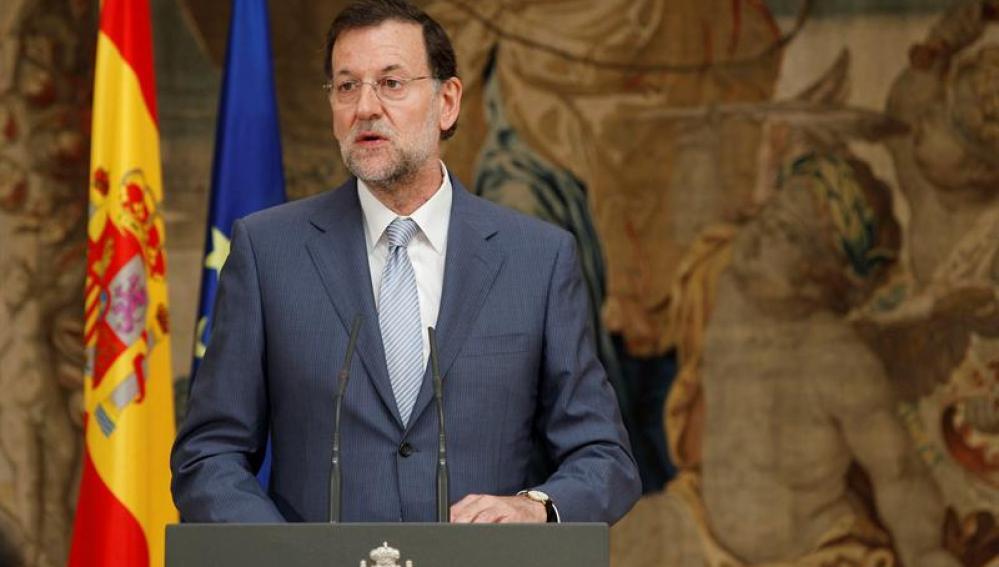 Rajoy, en una comparecencia sobre la marca España
