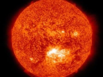 La mancha solar AR 1520