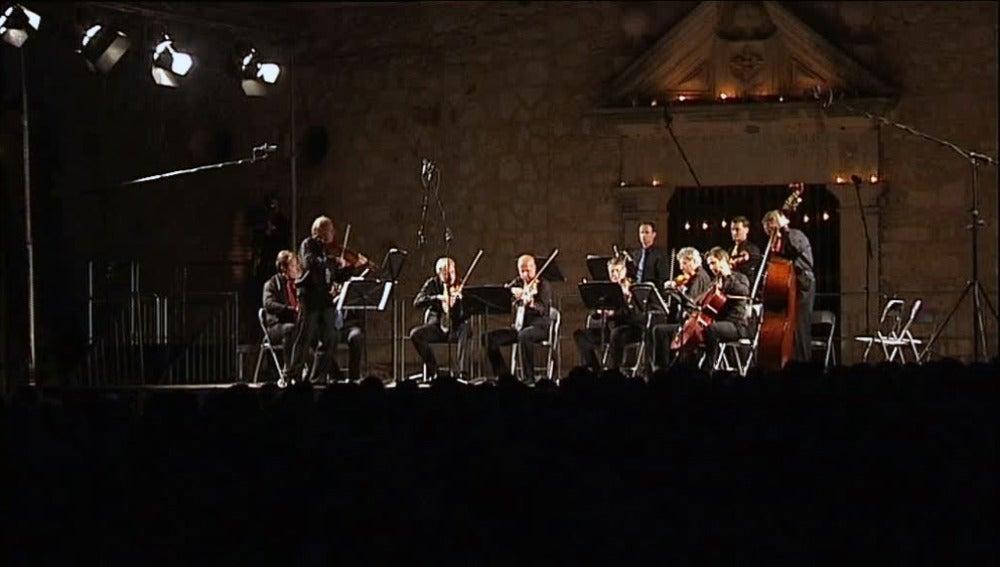 Los solistas de la filarmónica de Viena en Pedraza
