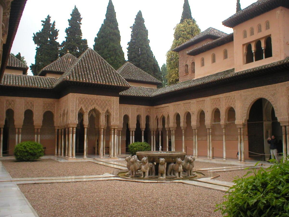 Antena 3 Tv El Patio De Los Leones De La Alhambra Reabre Hoy Sus