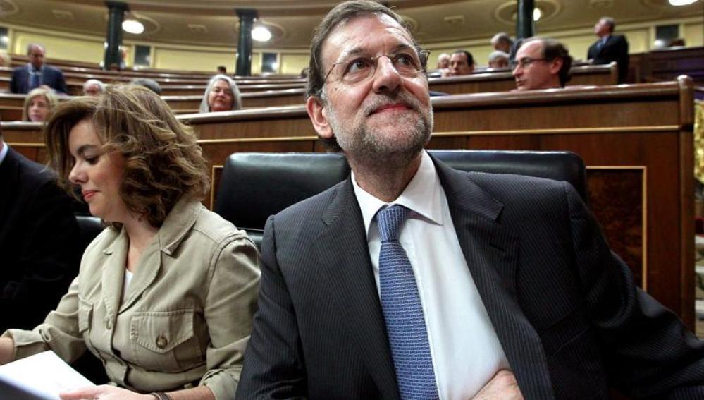 El jefe del Ejecutivo, Mariano Rajoy