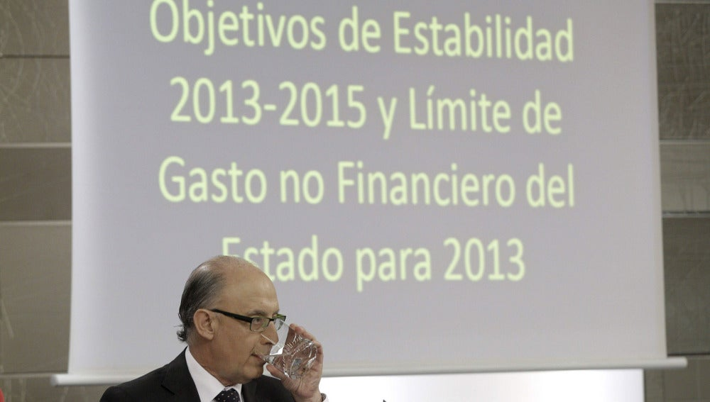 El Gobierno fija el techo de gasto para 2013