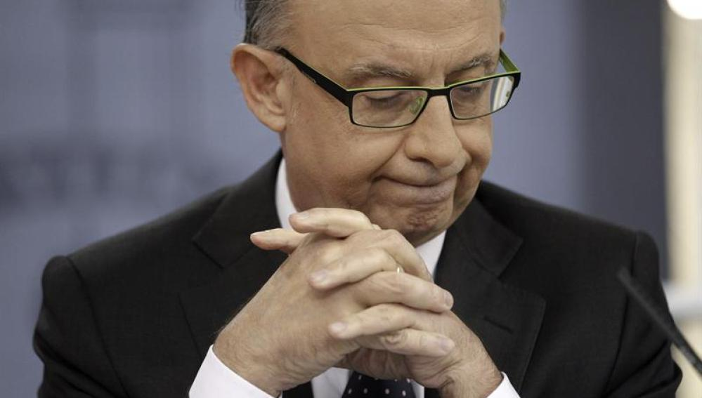 Cristobal Montoro anuncia una recesión económica