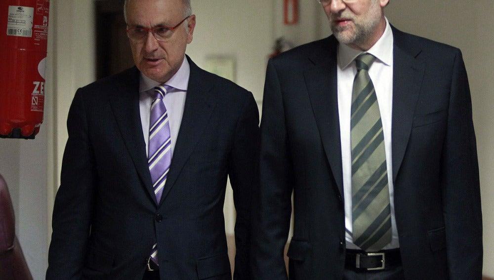 Mariano Rajoy junto a Josep Antoni Duran Lleida