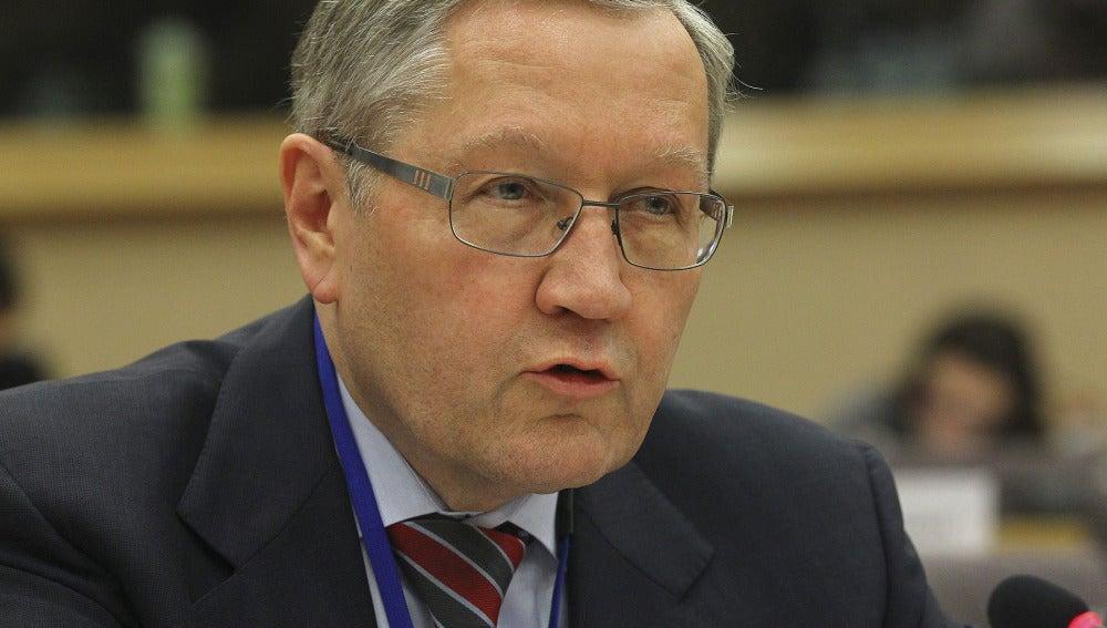 El presidente del FEEF, el alemán Klaus Regling