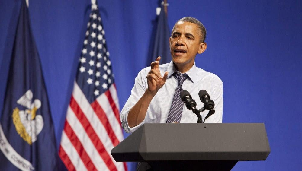 Barack Obama en Nueva Orleans