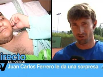 Nadal y Ferrero le dan una sorpresa a Miguel Ángel