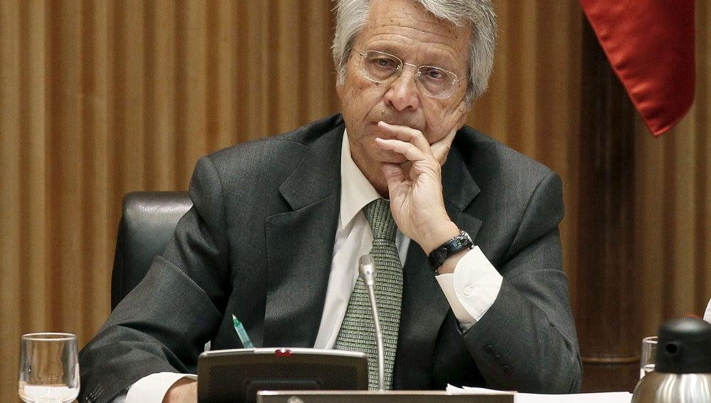 El excopresidente de Novacaixa Galicia Julio Fernández Gayoso