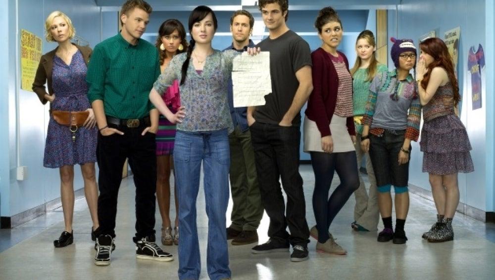 'Awkward', la serie de ficción de MTV