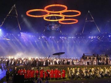 Inaguración juegos Olimpicos de Londres 2012  ( 28-07-2012)