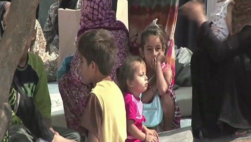 Los niños, los principales damnificados del conflicto sirio