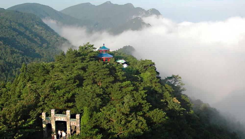 Las montañas de Lushan, Pekín