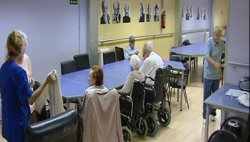 Un geriátrico de Cataluña