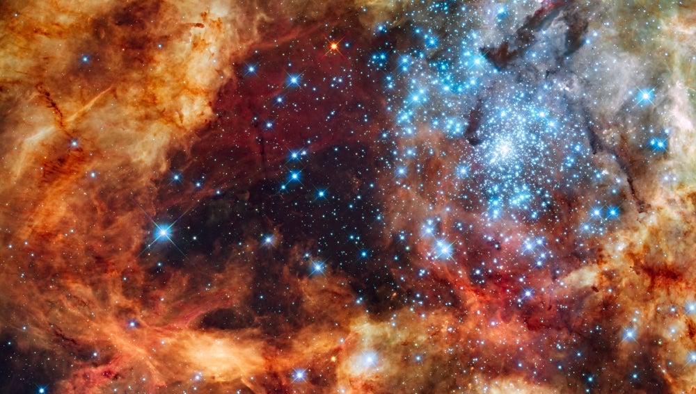 El cúmulo estelar R136