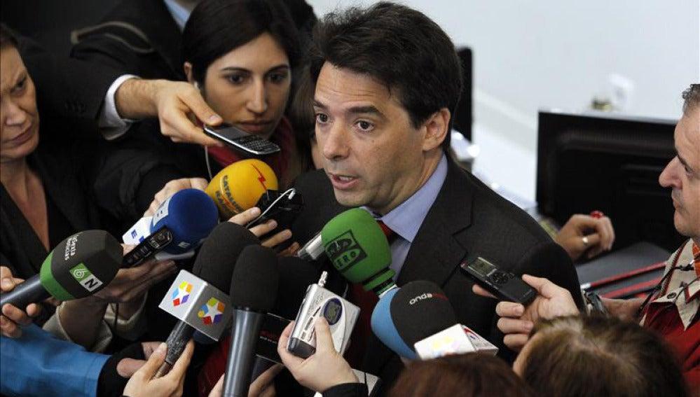 Percival Manglano, consejero madrileño de Economía y Hacienda