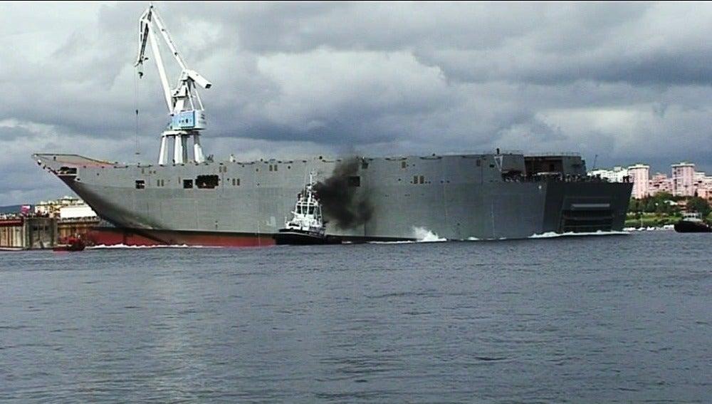 Buque de los astilleros de Ferrol