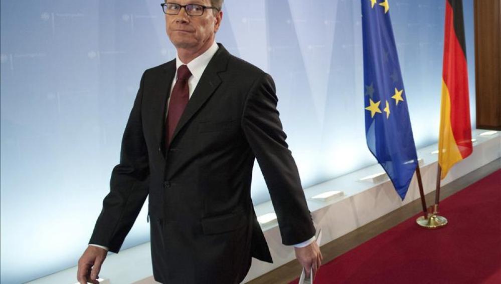 El ministro de Asuntos Exteriores, Guido Westerwelle