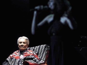 La cantante mexicana Chavela Vargas