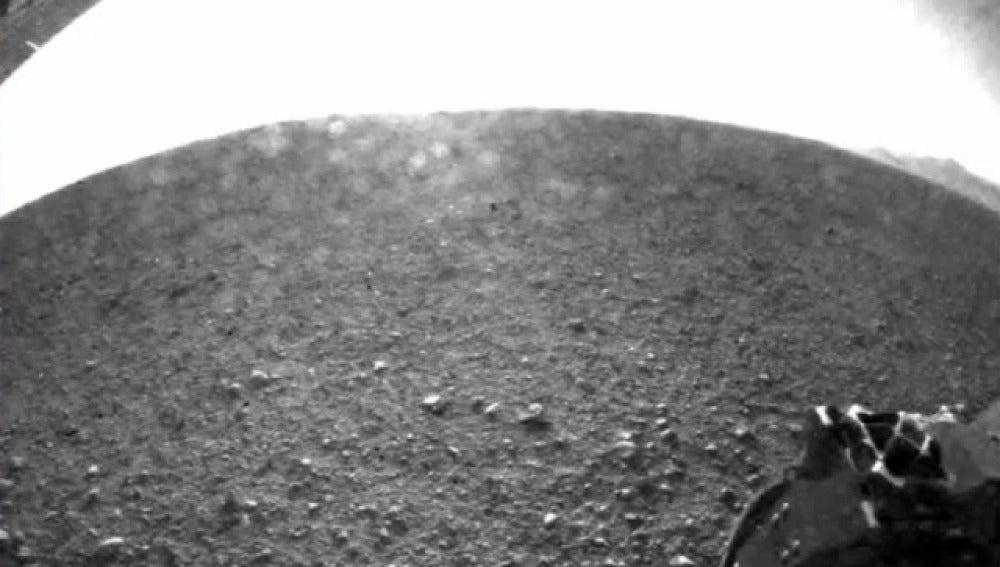 Primera imagen de Marte del Curiosity