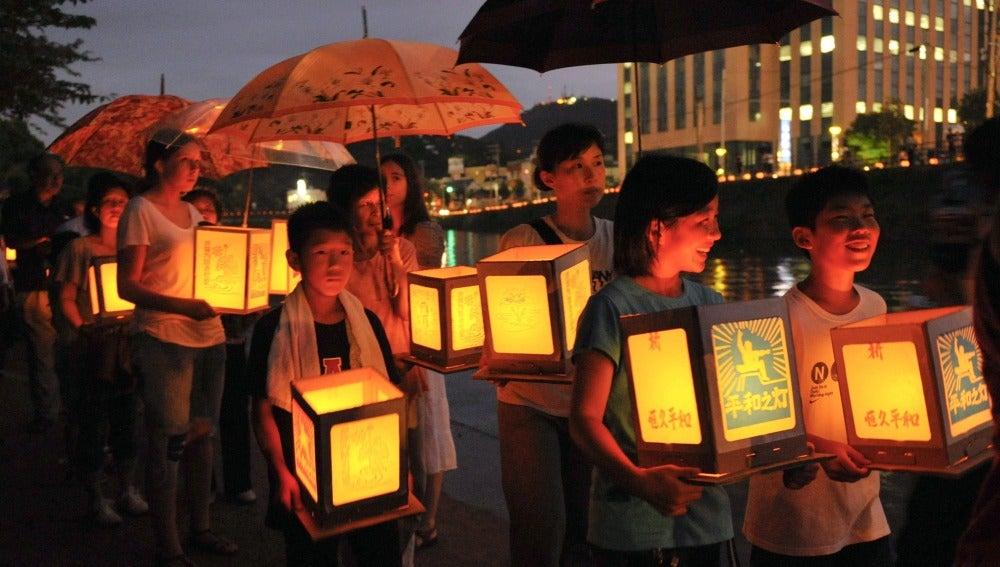 Nagasaki conmemora el 67 aniversario del bombardeo atómico