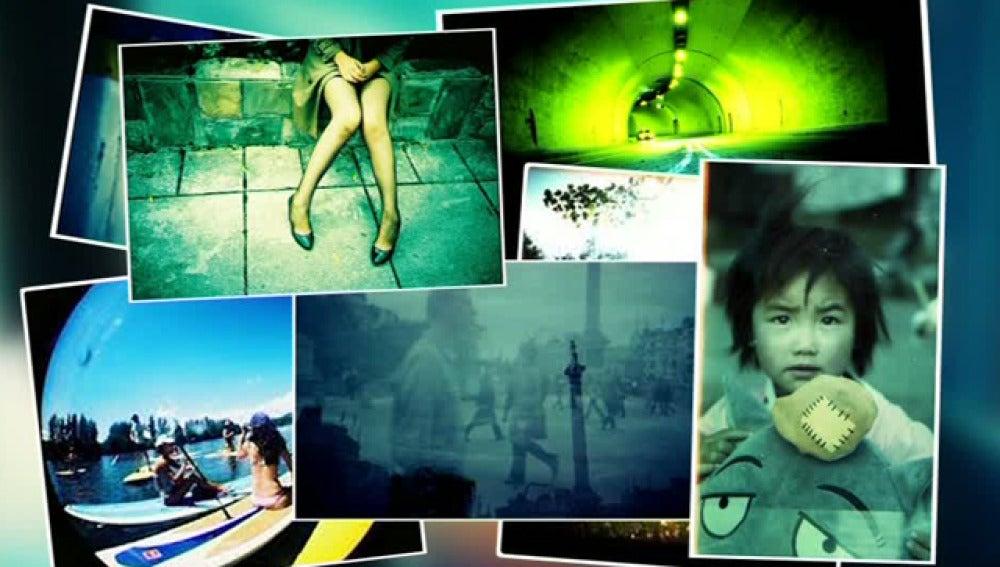 Imágenes captadas con cámara lomográfica