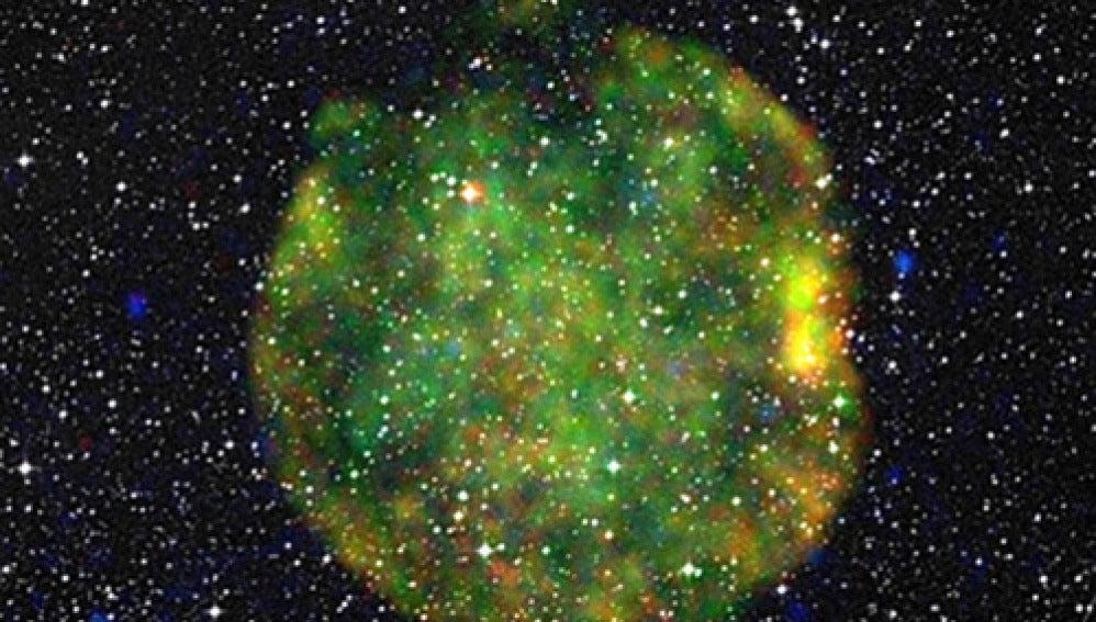 Remanente de una supernova