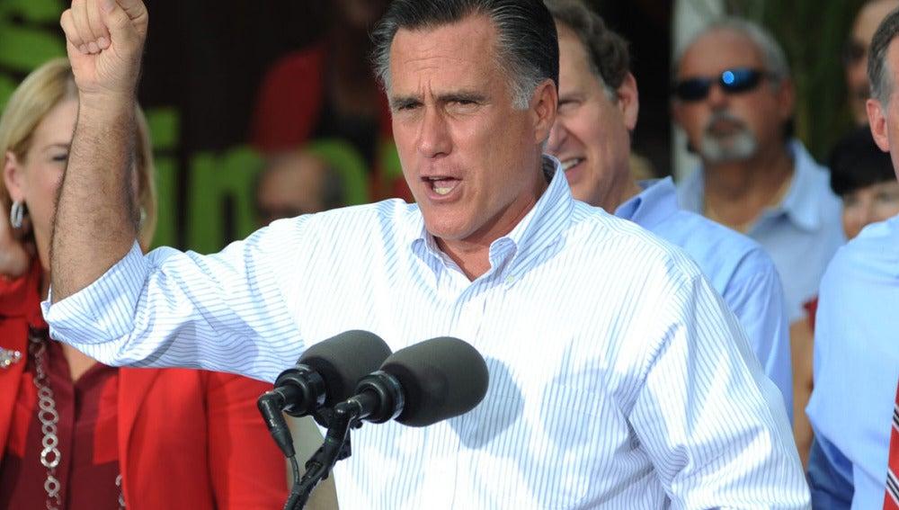 Mitt Romney, en Miami