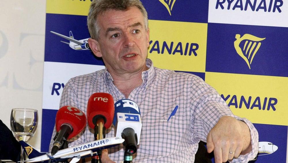 El Presidente de Ryanair, Michel OLeary