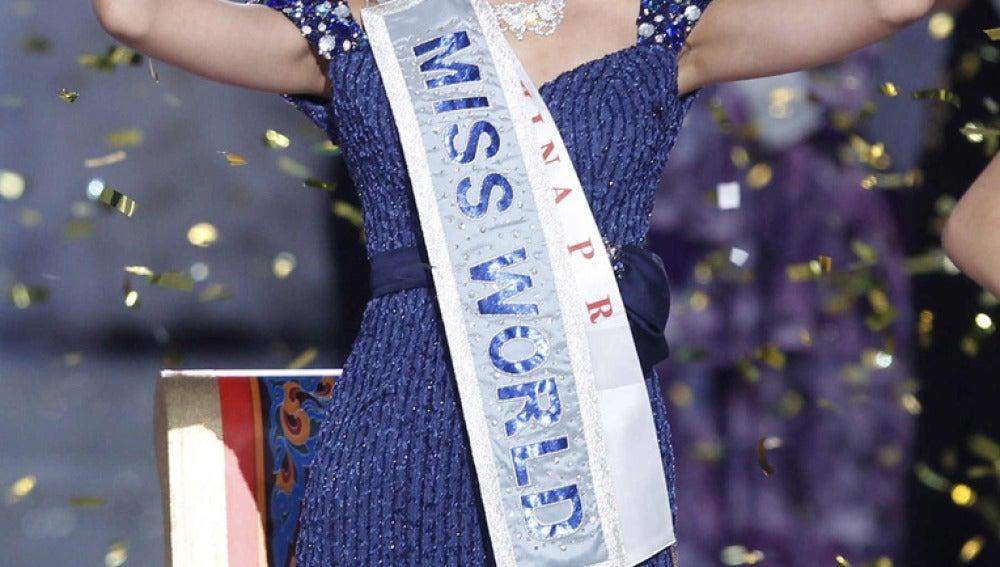 La joven ganadora de Miss Mundo 2012