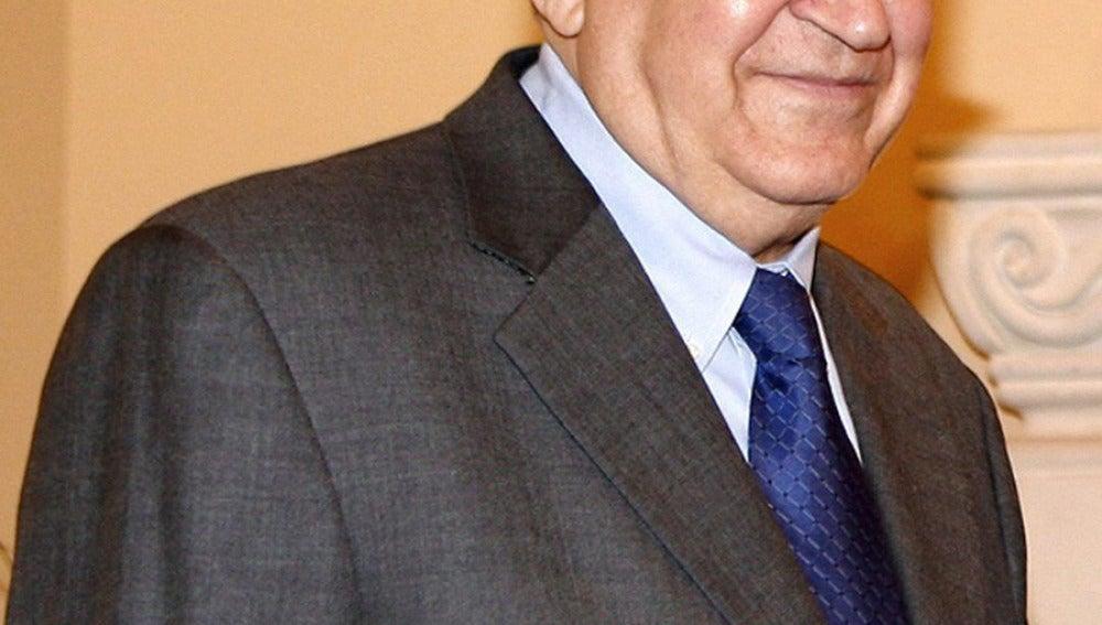 El diplomático argelino Ladjar Brahimi