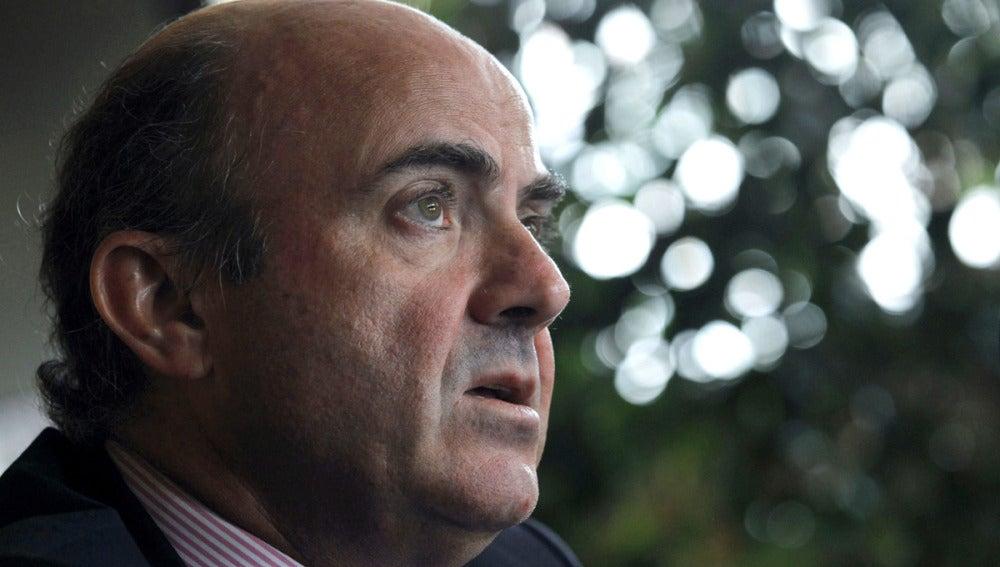 El ministro Luis de Guindos