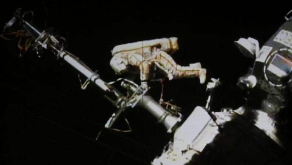 El astronauta ruso Gennady Padalka