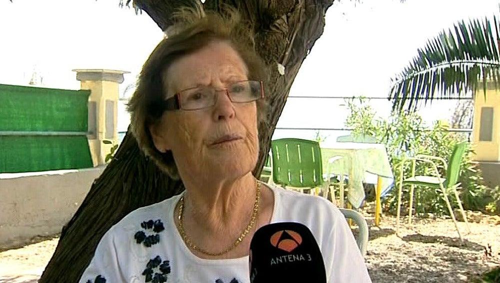 Cecilia, la vecina de Borja que decidió restaurar el 'Ecce Homo'