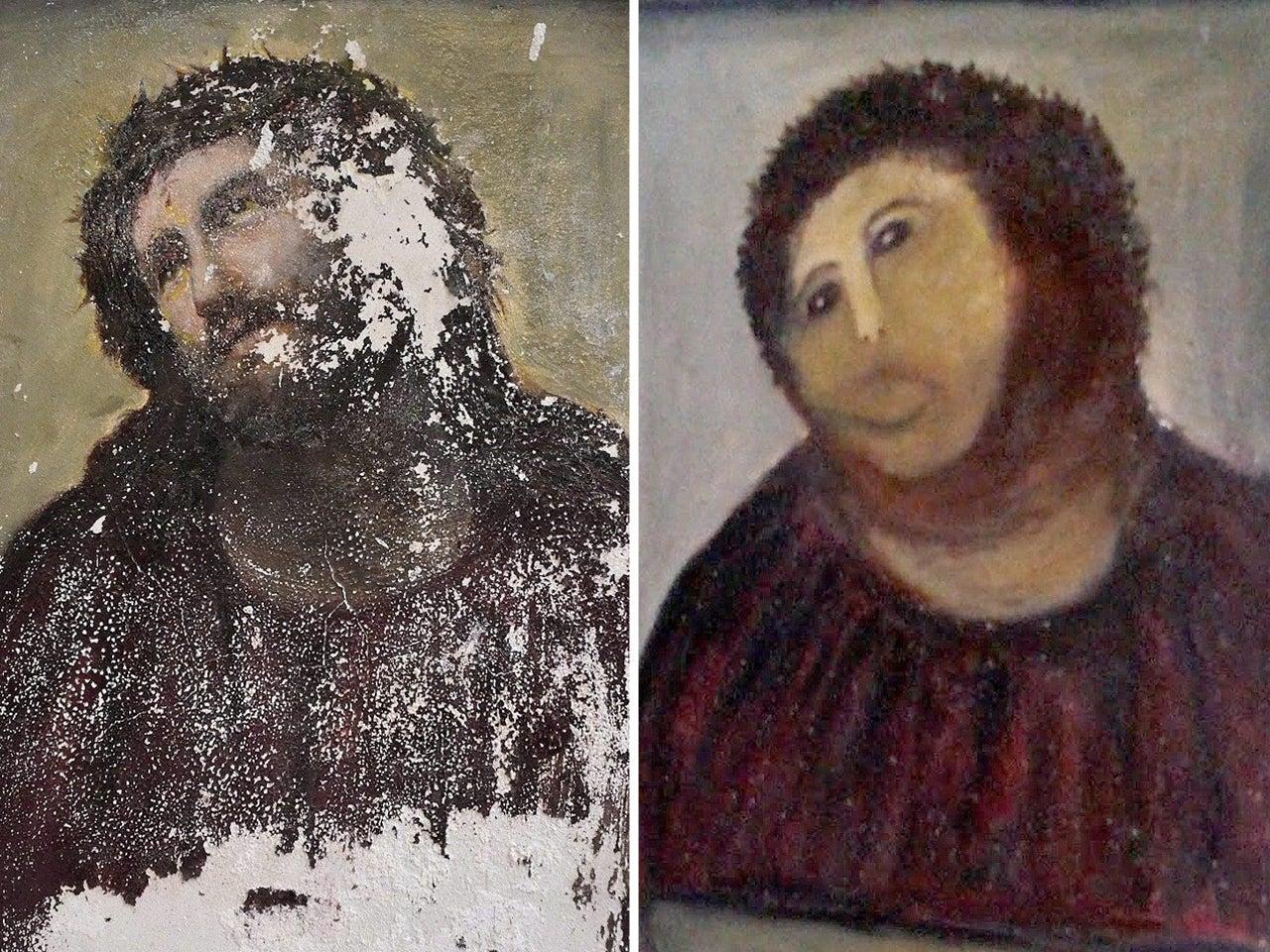 worst artworks restorations