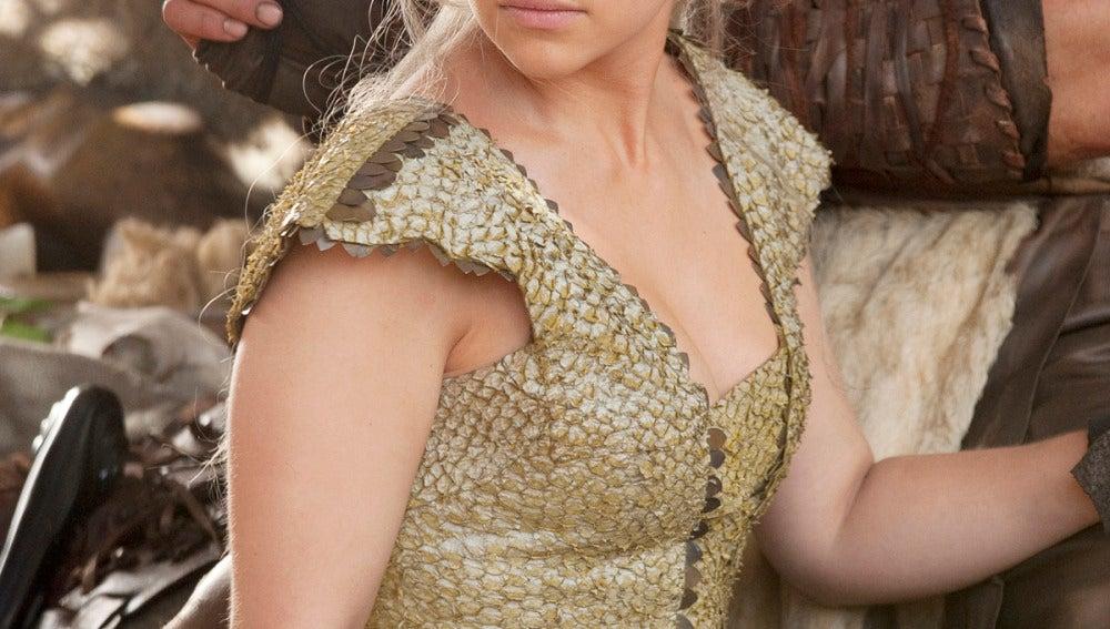 Daenerys Targaryen, esposa de Khal Drogo