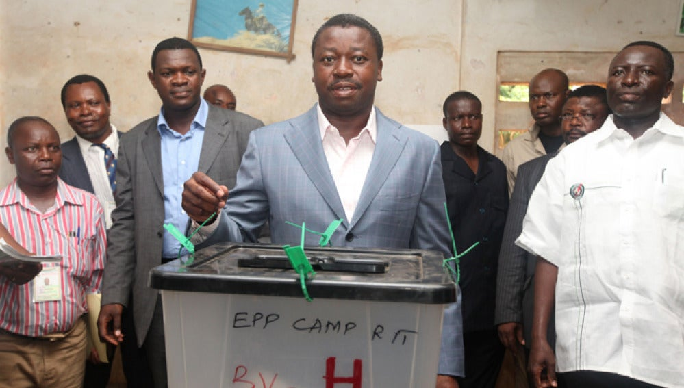 El presidente de Togo Faure Gnassingbé.