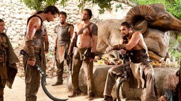 Khal Drogo y los Dothrakis