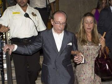 Ruiz-Mateos abandonando el juicio