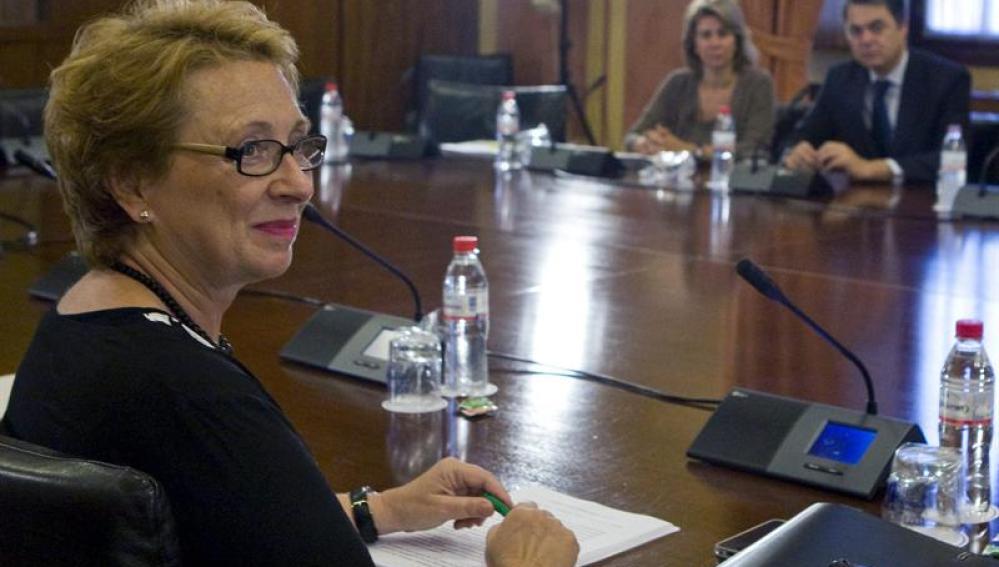 La consejera andaluza de Hacienda y Administración Pública, Carmen Martínez Aguayo