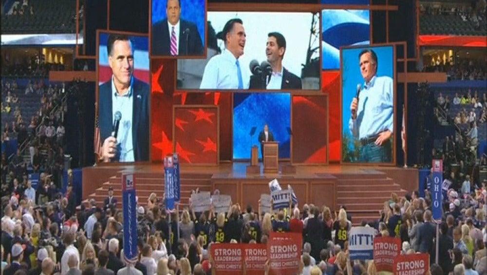 """La organización de la Convención Republicana en Tampa (Florida) está alimentando rumores sobre un """"orador misterioso"""" que precederá a Mitt Romney"""