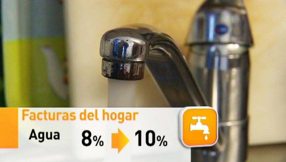 La subida del IVA afectará al consumo de agua, luz, transportes y ocio