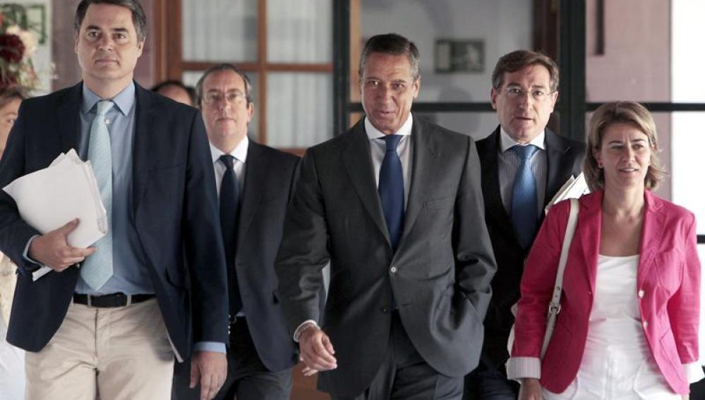 El ministro de Trabajo y Asuntos Sociales Eduardo Zaplana