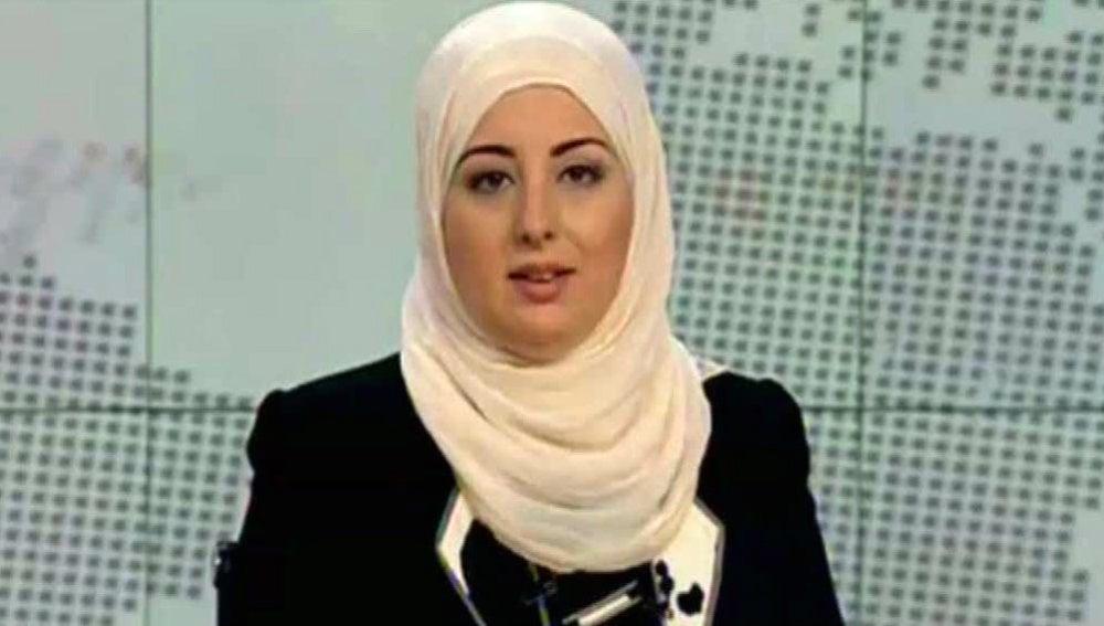 Primera presentadora con Velo en Egipto