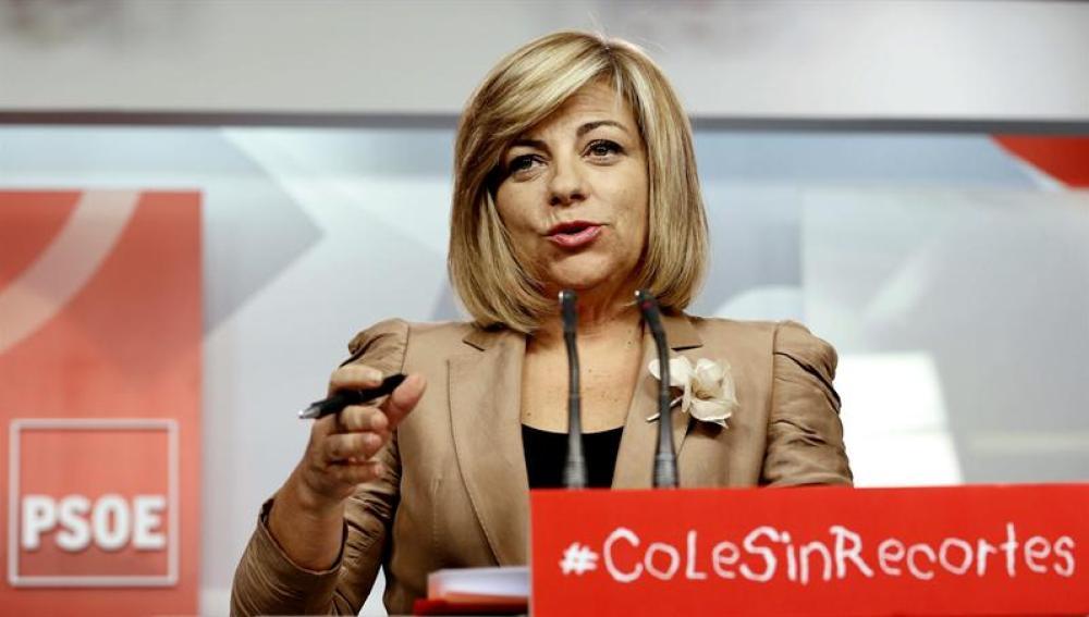 La dirigente socialista critica las medidas económicas del Gobierno