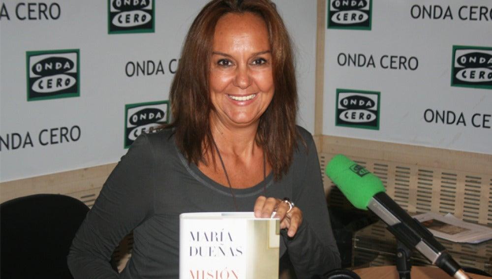 Maria Dueñas en Onda Cero