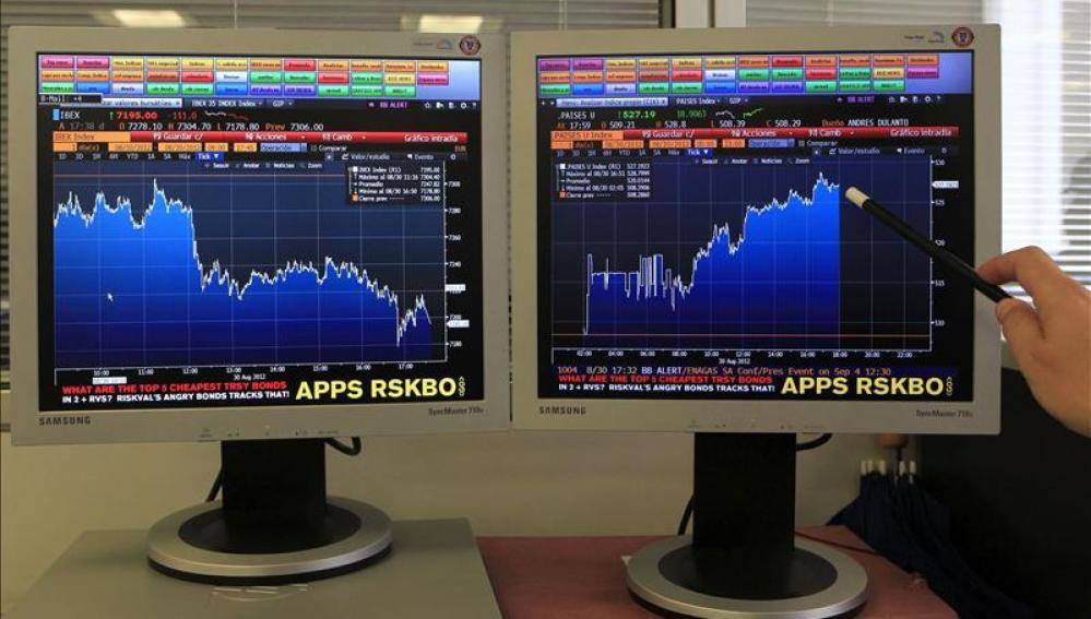 Índices positivos en la Bolsa