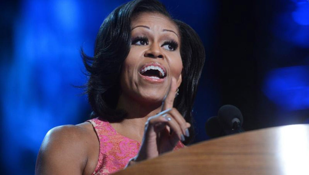 Michelle Obama en la Convención Demócrata