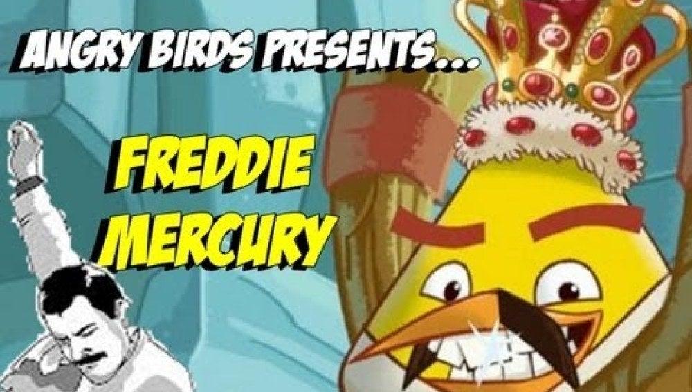 Freddie Mercury se convierte en Angry Bird durante un día por motivos benéficos