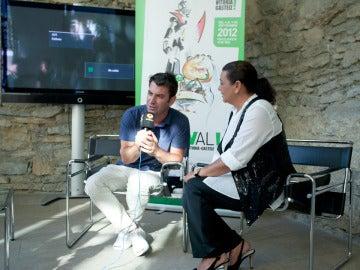 Arturo Valls y María del Monte