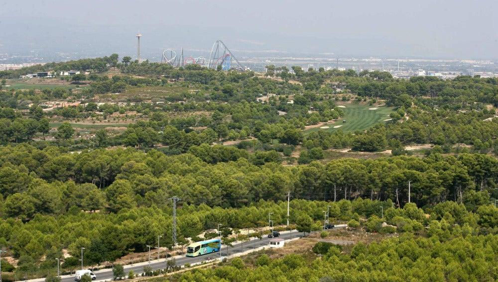 Lugar donde se levantará 'Barcelona World'